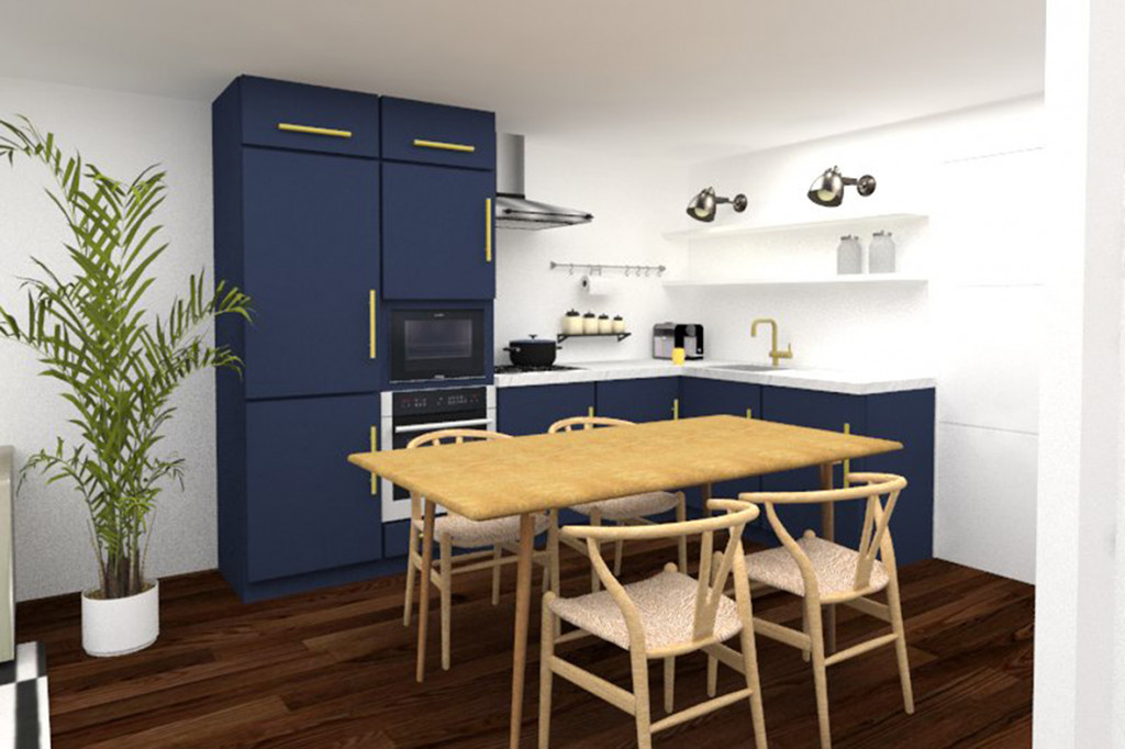 Apartamento 4torres studio bmkstudio bmk for Presupuesto pintar piso 80 metros