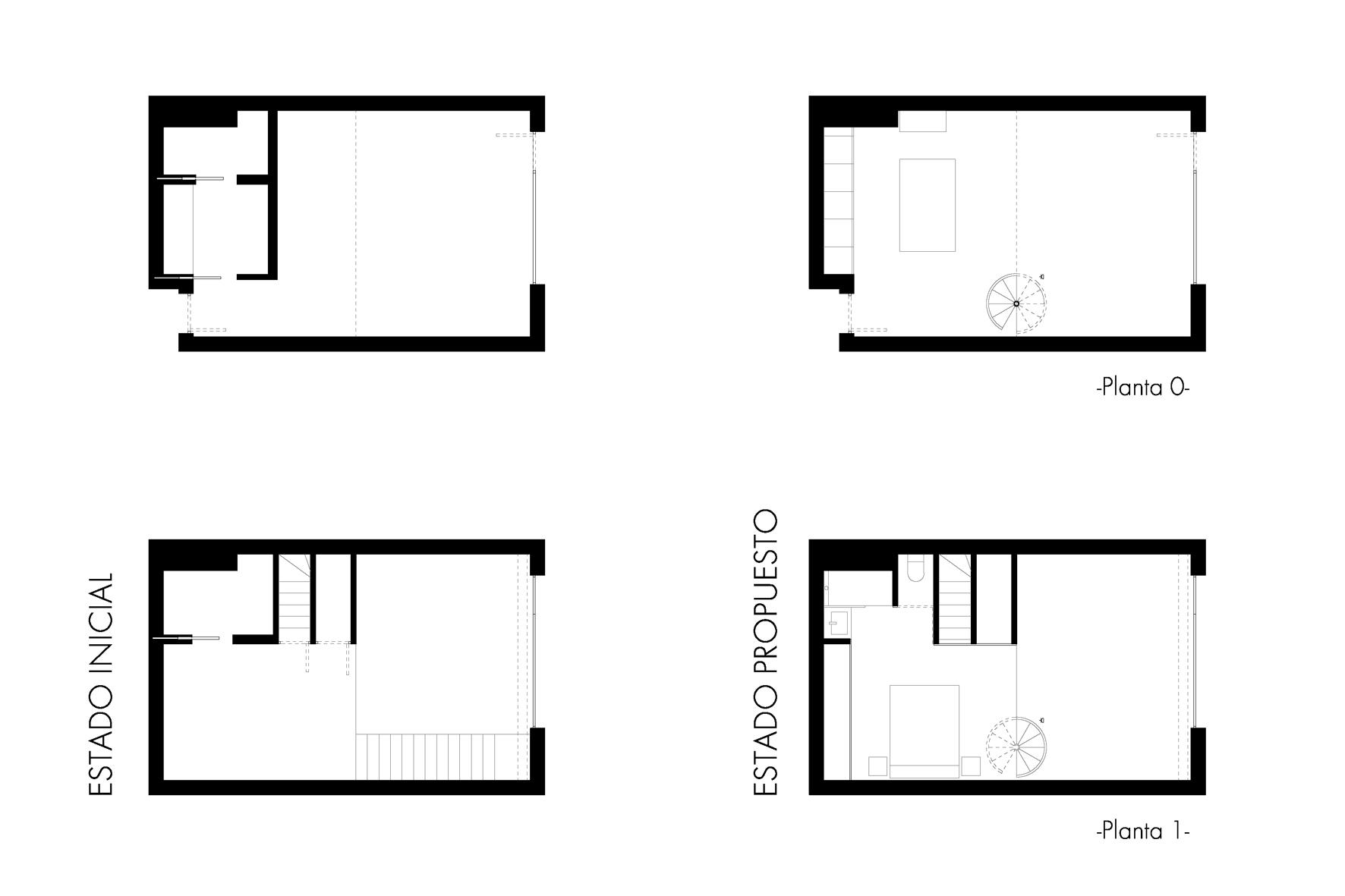 Reforma loft arquitectura interiorismo studiobmk (2)