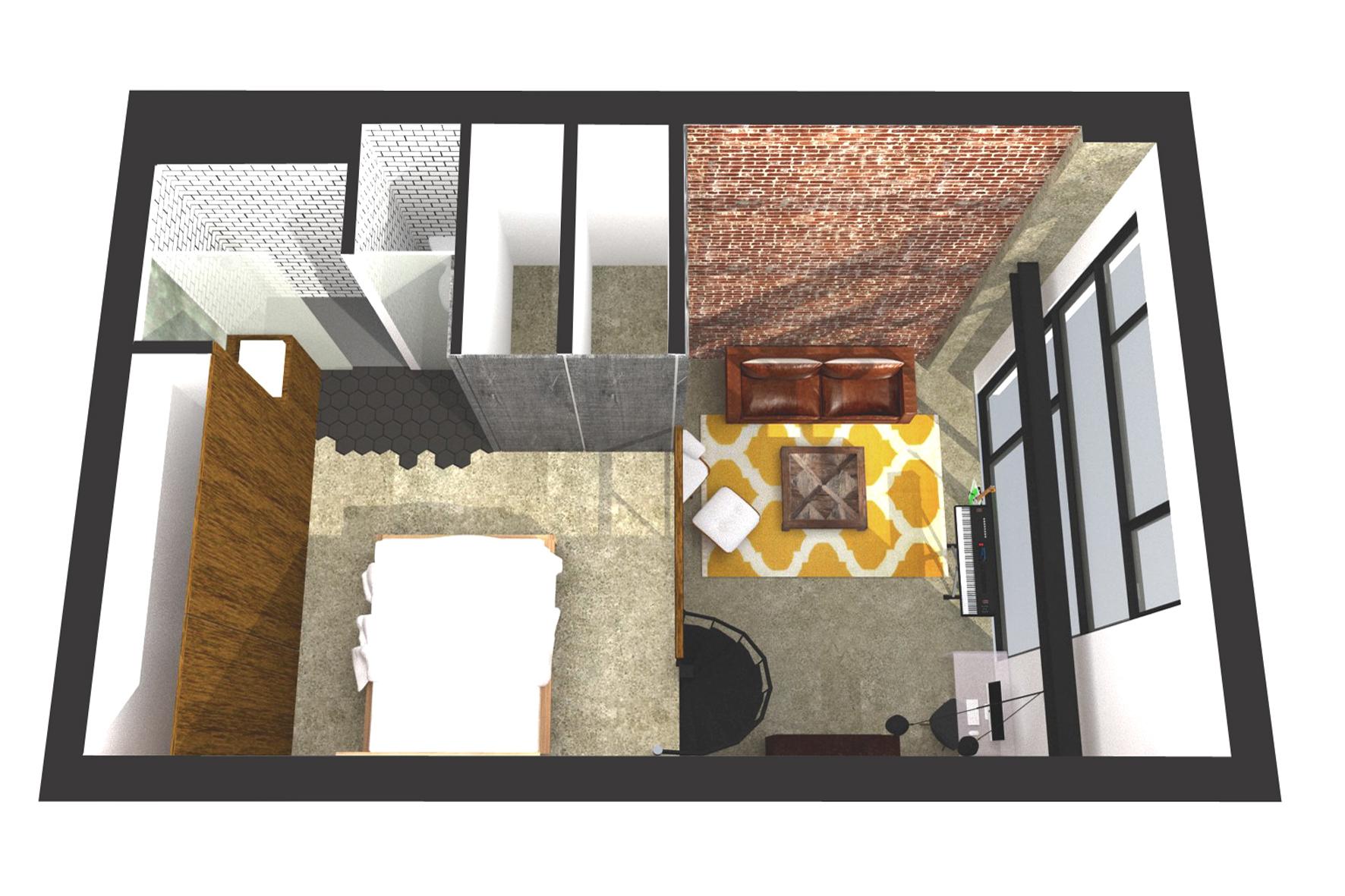 Reforma loft arquitectura interiorismo studiobmk (3)