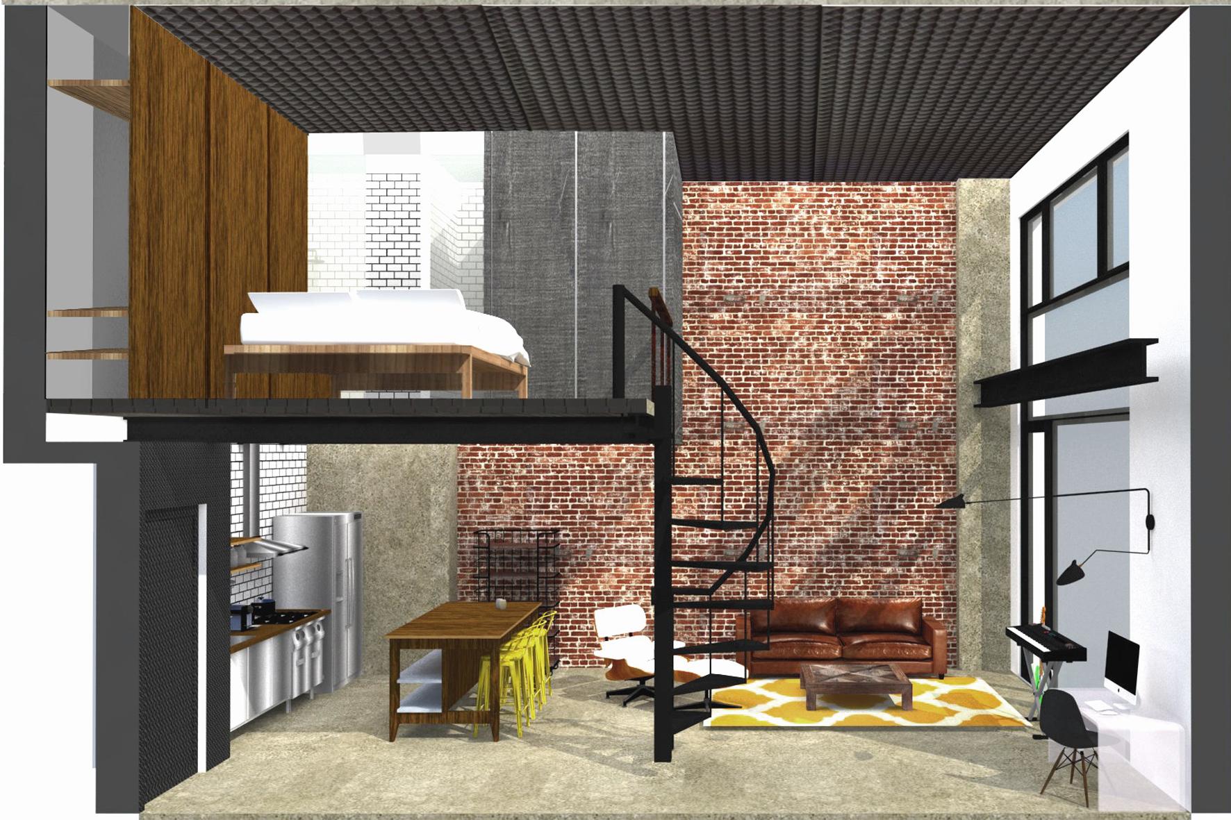 Reforma loft arquitectura interiorismo studiobmk (4)