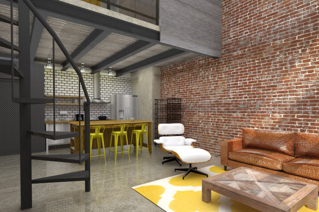 Loft en monteprincipe studio bmkstudio bmk for Loft reformas