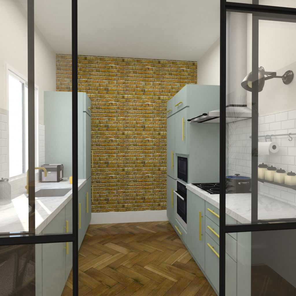 Reforma piso madrid chamartín arquitectura interiores studiobmk (1)
