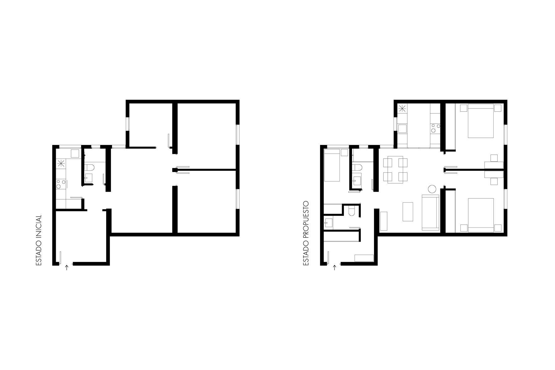 Reforma piso madrid chamartín arquitectura interiores studiobmk (5)
