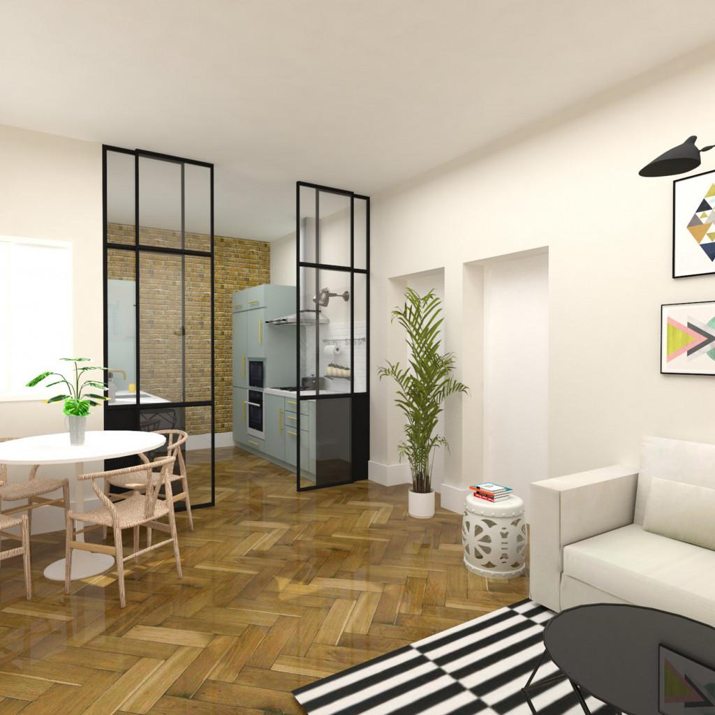 Reforma piso madrid chamartín arquitectura interiores studiobmk (6)